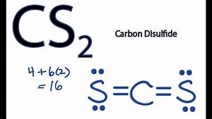 Cs2 Lewis Structure  How To Draw The Lewis Structure For