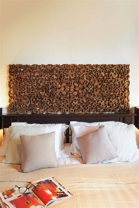 buy tropical frond king size headboard