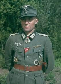 ww2 german soldier color portrait world war 2 in color