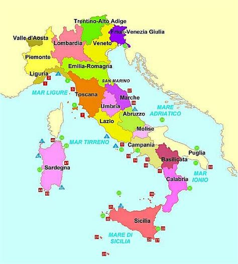 I Mari Bagnano L Europa Cartina Italiana Con I Mari Wroc Awski Informator