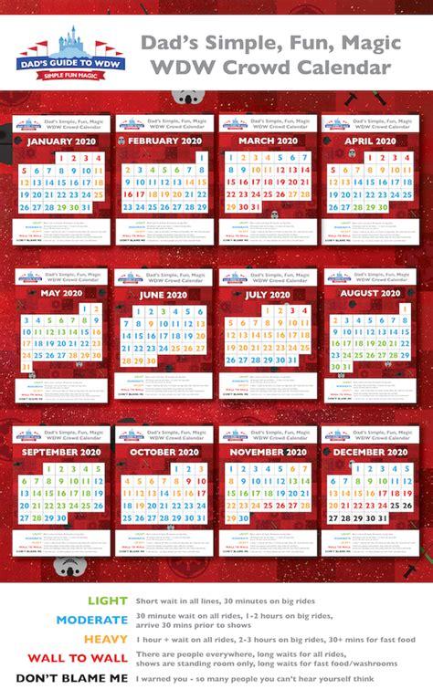 february disney world crowds calendars tips