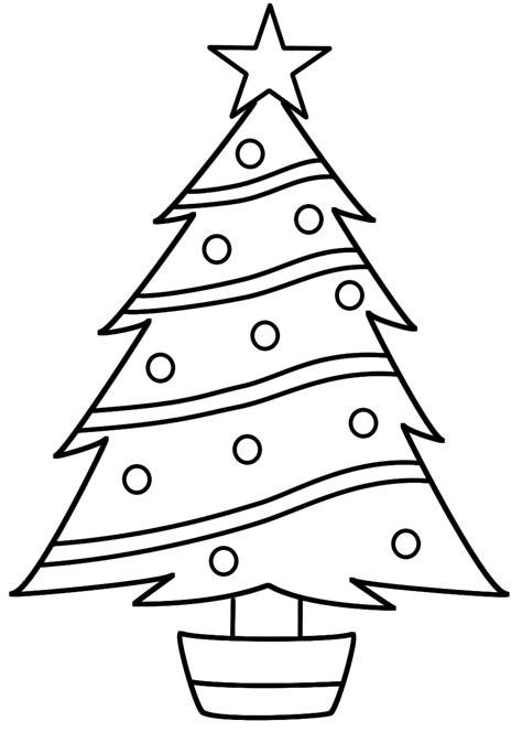 dibujos de 193 rboles de navidad para colorear e imprimir