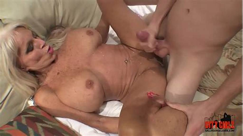 #Young #Guy #Slams #His #Young #Cock #To #Mature #Milf #Sally #D