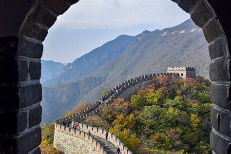 cable wall mutianyu great wall china day 2 part traveler