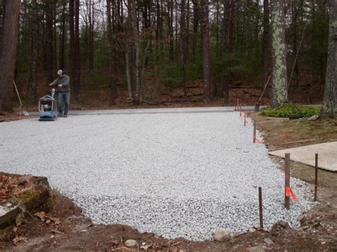 compacting decomposed granite permeable paving in ma natural path landscaping