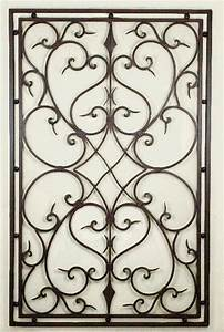 High Resolution Black Iron Wall Decor #7 Wrought Iron