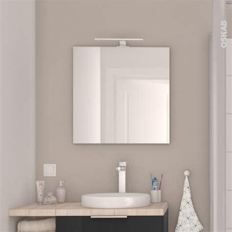 Miroir De Salle De Bains Simple Ephis L60 X H60 Cm Oskab