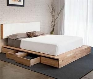 Lit Adulte Tiroir : o trouver votre lit avec tiroir de rangement ~ Teatrodelosmanantiales.com Idées de Décoration