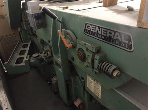 strato planeur  pouces general machineries bst