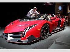 Lamborghini Veneno Roadster at Monster Booth 25