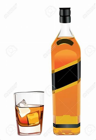Whiskey Bottle Clipart Whisky Scotch Drink Vector