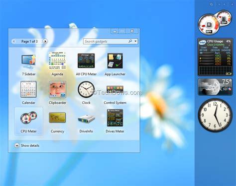 gadgets bureau windows 8 windows 8 gadgets pack softwares valley