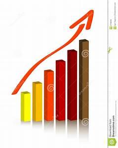 Vector Bar Chart  Column Diagram   Stock Vector