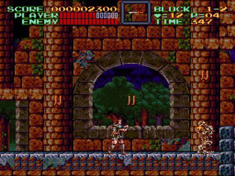 castlevania super iv snes castle nintendo games game screenshots gamefabrique