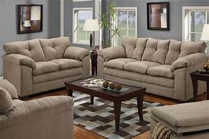 Awesome couch and loveseat sets homesfeed for Sofa bed and recliner chair set