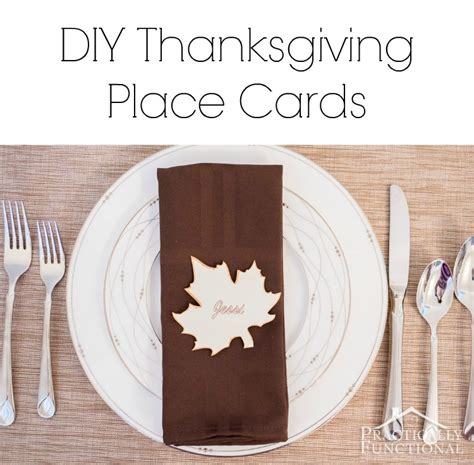 simple thanksgiving place cards printable