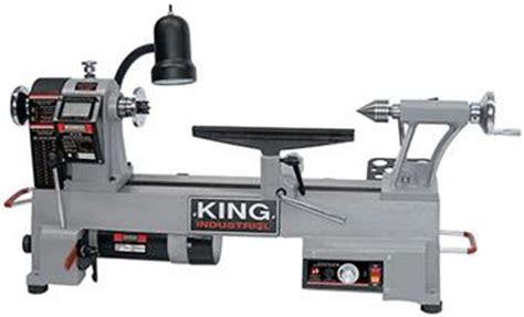 variable speed wood lathe king canada kwl