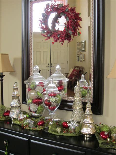 christmas home decor christmas decor apothecaries  jar