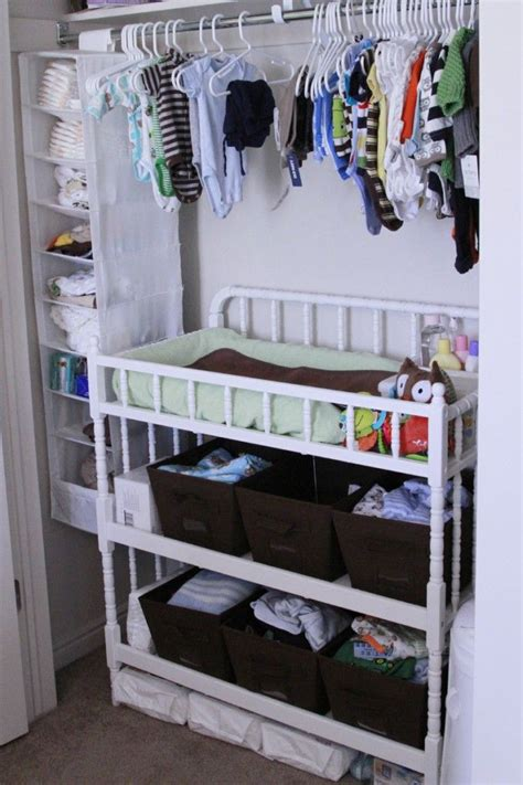 essentials and organized in closet great use of