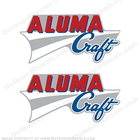 Alumacraft Boats Logo by Alumacraft Boat Logo Decals Style 2 Set Of 2