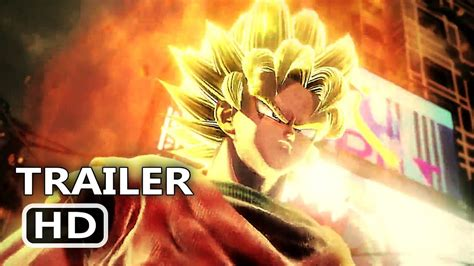jump force official trailer  dragon ball   naruto