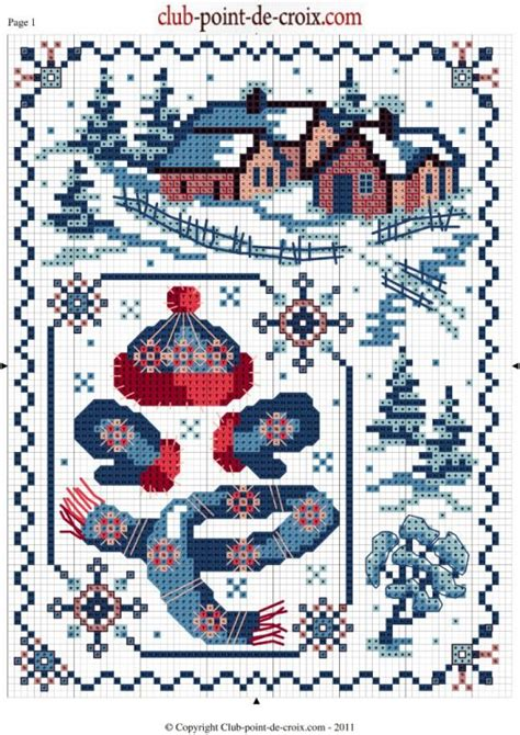 1000 images about point de croix noel on cross stitches natal and punto