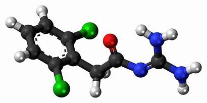 Molecule Guanfacine Compounds Chemical Examples Science Ball