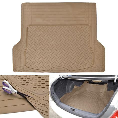 vans doormat all weather rugged beige non slip trimmable suv floor