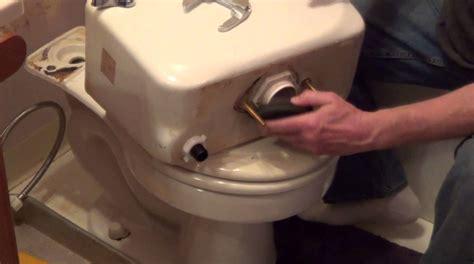 fixing a toilet flush how to replace a toilet flush valve tank to bowl leak