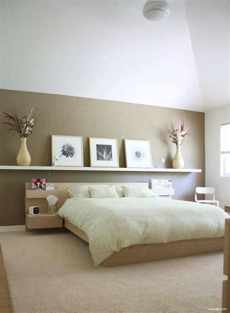 Ikea Malm Bed Nightstand Lack Shelves Decoratiuni