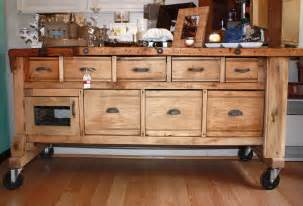 rustic kitchen islands for sale pdf diy workbench island plans workbench plans family handyman woodproject