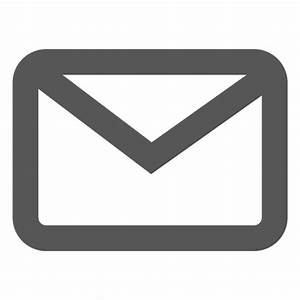 Email outline icon Transparent PNG & SVG vector
