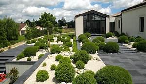 Aménagement Jardin Extérieur : exterieur jardin materiaux naturels champagne ~ Preciouscoupons.com Idées de Décoration