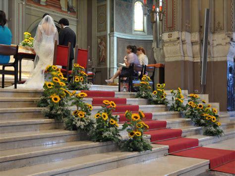 Addobbi Giardino Per Matrimonio by Un Giardino Di Girasoli Come Addobbo Di Nozze