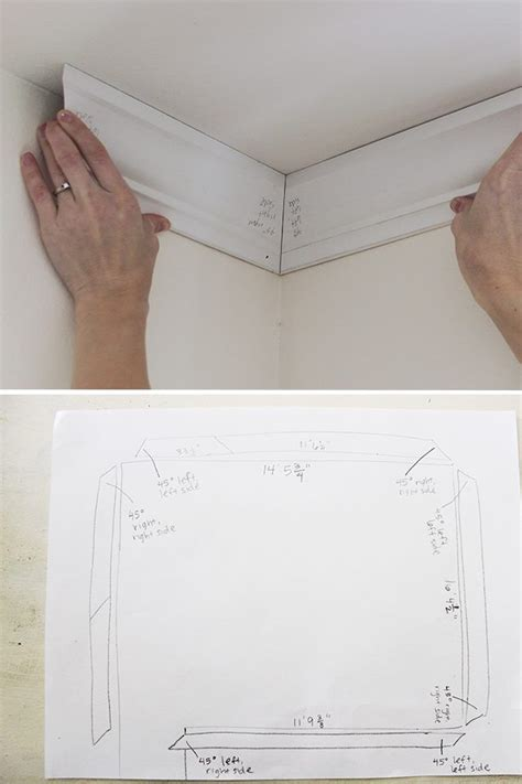 install crown molding home improvement crown
