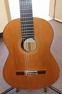 1969 Vintage Taurus Classical Flamenco Guitar Blanca