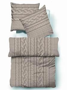 Tom Tailor Bettwäsche : tom tailor biber bettw sche bett berzug baumwolle sand zopfmuster 135x200cm ebay ~ Whattoseeinmadrid.com Haus und Dekorationen