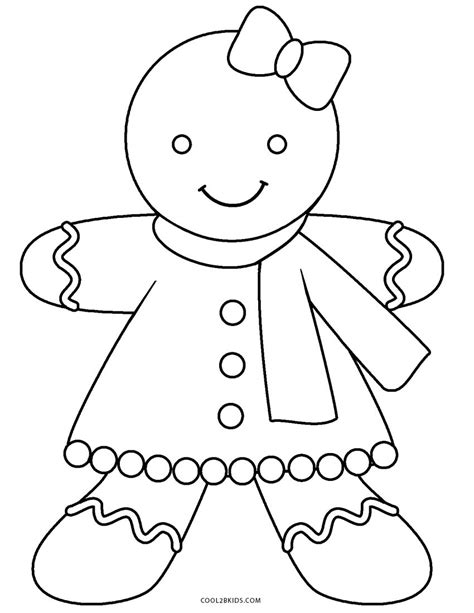 gingerbread color gingerbread and boy coloring sheets coloring page