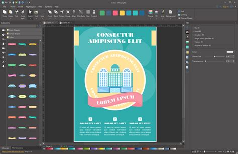 Brochure Design Software For Mac by Flyer Software For Windows Mac And Linux