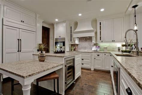 mediterranean kitchen with white cabinets kitchens with ornamental white granite mediterranean