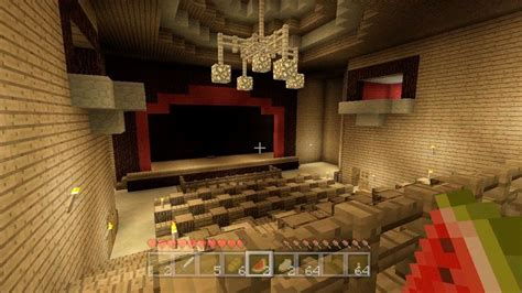 minecraft completed theater  youtube