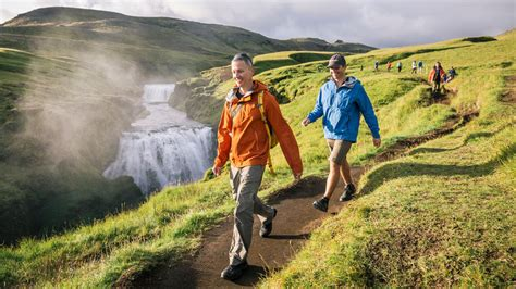 iceland hiking active iceland vacation travel with
