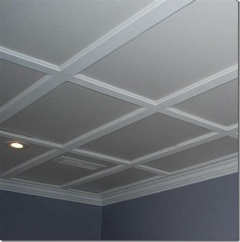 Suspended Coffered Ceiling by Designties Ottawa Interior Decorator Easy As A B C Home