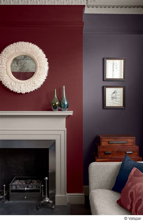 Living Room Paint Colors With Burgundy Furniture by This Mix Of Colors And Textures Makes For A Cozy
