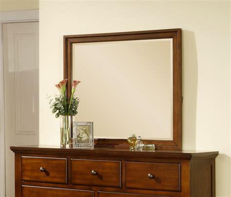 Mirror Finish Dresser by Chatham Dresser Mirror Walnut Finish Ch555mr Decor