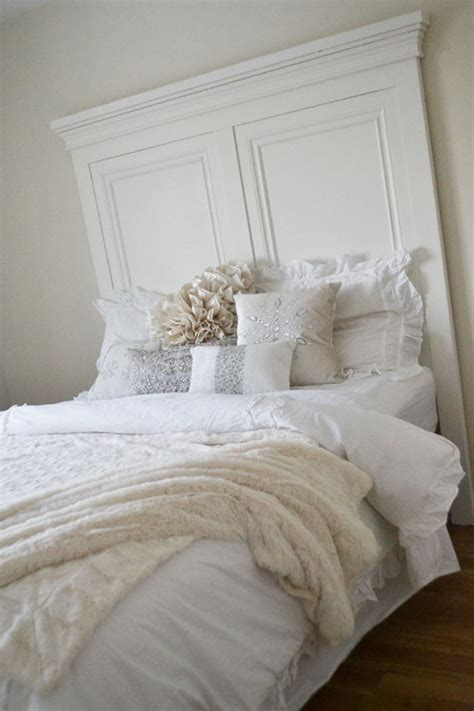 White Headboard Plans by White Panel Headboard Diy Projects