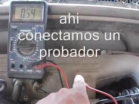 mi carro da marcha pero no prende youtube