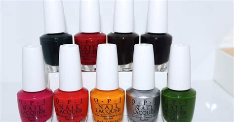 opi new colors new opi color paints blendable nail lacquer collection