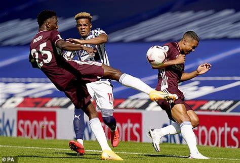 West Brom vs Leicester - Premier League 2020/21: Live ...
