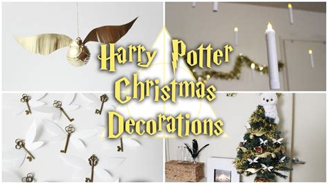 diy harry potter christmas decorationsfloating candles